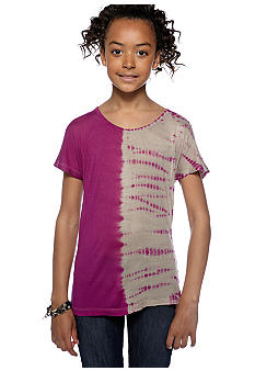 Jessica Simpson Alexis Tie Dye Top Girls 7-16
