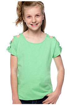 Jessica Simpson Hudson Solid Top Girls 7-16