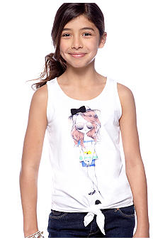 Jessica Simpson Island Girl Tie Tee Girls 7-16