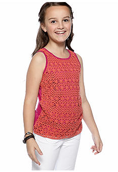 Jessica Simpson Crochet Tank Girls 7-16