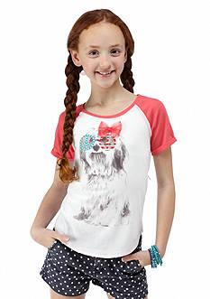 Jessica Simpson Londyn Dog Tee Girls 7-16