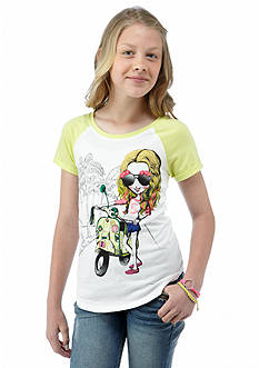 Jessica Simpson Cyndee Fashion Girl Tee Girls 7-16