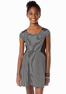 Jessica Simpson Kaylee Striped Dress Girls 7-16