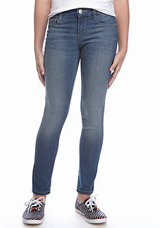 Jessica Simpson Dark Wash Air Kiss Me Skinny Jeans Girls 7-16