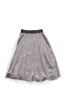 Jessica Simpson Metallic Tulle Skirt Girls 7-16