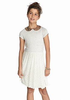 Jessica Simpson Shareen Glitter Dress Girls 7-16