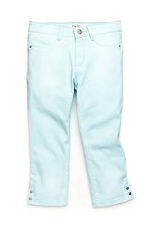 Jessica Simpson Kiss Me Skinny Snap Crop Jeans Girls 7-16