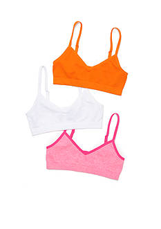 Maidenform 3-Pack Seamfree Crop Bra Girls 7-16