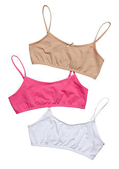 Maidenform 3-Pack Value Crop Bras