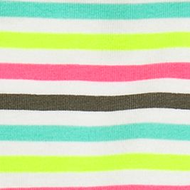 Girls Underwear: Rainbow    Stripe Maidenform Cotton Hipster Girls 7-16