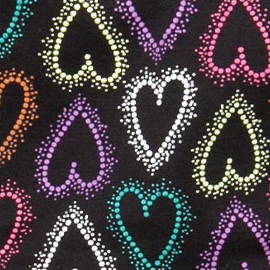 Girls Underwear: Dotty Hearts Maidenform Seamless Hipster Girls 7-16