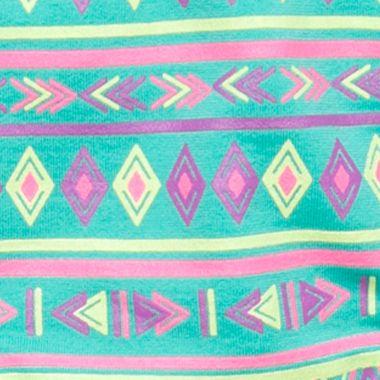 Girls Underwear: Teal Tribal Maidenform Seamless Hipster Girls 7-16