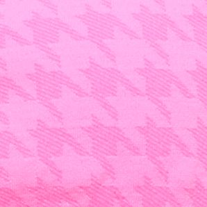 Girl Clothes: Sports Bras: Pink Houndstooth Maidenform Seamless Rouched Crop Bra Girls 7-16
