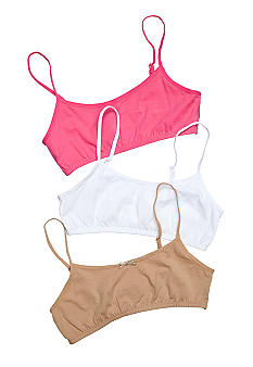 Maidenform® 3-Pack Bralette Girls