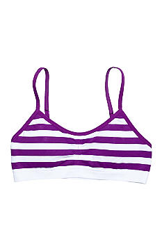 Maidenform Seamless Stripe Bra Girls