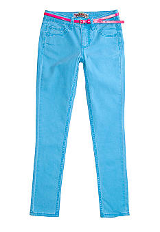 Squeeze Neon Color Skinny Denim Girls 7-16