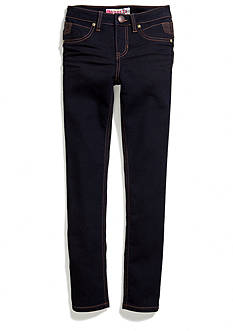Squeeze Black Fill Moto Skinny Jeans Girls 7-16