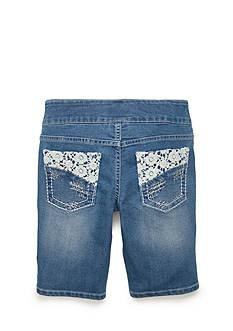 Squeeze Crochet Pocket Bermuda Shorts Girls 7-16