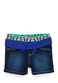 Squeeze Novelty Knit Waistband Shorty Shorts Girls 4-6x