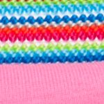Little Girls Shorts and Capris: Rainbow Squeeze Novelty Knit Waistband Shorty Shorts Girls 4-6x