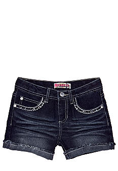 Squeeze Bling Pocket Shorty Short Girls 7-16