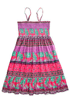 Squeeze Floral Print Dress/Skirt Girls 7-16