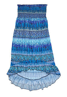 Squeeze Hi Low Skirt As A Dress Girls 7-16
