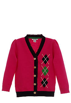 Hartstrings Argyle Cardigan Girls 7-16