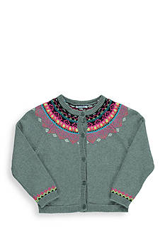 Hartstrings Fair Isle Cardigan Girls 7-16