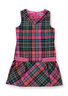 Hartstrings Plaid Woven Jumper Girls 7-16