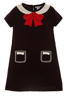 Hartstrings Bow Sweater Dress Girls 7-16
