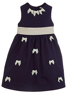 Hartstrings Bow Dress Girls 4-6X
