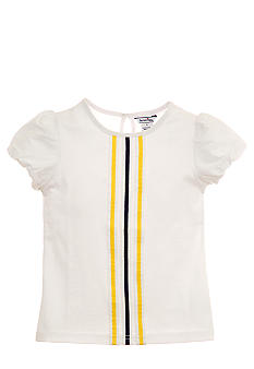 Hartstrings Ribbon Trim Tee Girls 4-6X