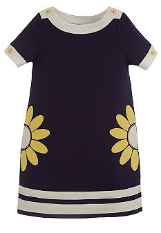Hartstrings Daisy Ponte Dress Girls 4-6X