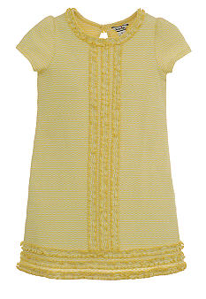 Hartstrings Knit Ruffle Dress Girls 7-16