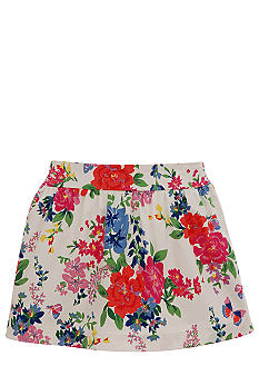 Multi Floral Skort Girls 7-16