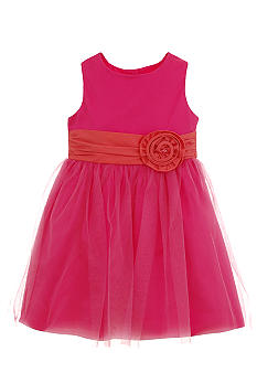 Hartstrings Sateen Sleeveless Dress Girls 7-16