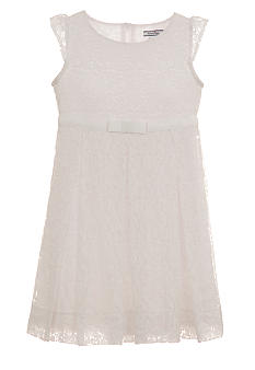 Hartstrings Cotton Lace Dress Girls 7-16