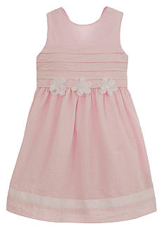 Hartstrings Seersucker Dress Girls 4-6X