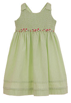 Hartstrings Cotton Seersucker Dress Girls 7-16
