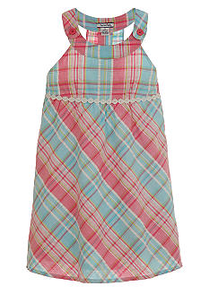 Hartstrings Plaid Dress Girls 7-16