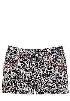 Hartstrings Print Shorts Girls 7-16