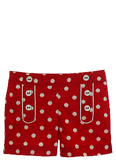 Hartstrings Polka Dot Shorts Girls 4-6X