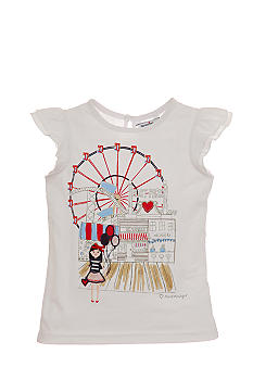 Hartstrings Boardwalk Tee Girls 4-6X