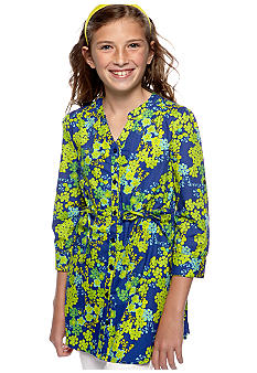 Red Camel Girls Floral Print Woven Top Girls 7-16