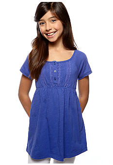 Red Camel Girls Lace Trim Babydoll Top Girls 7-16