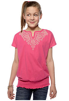 Red Camel Girls Peasant Top Girls 7-16
