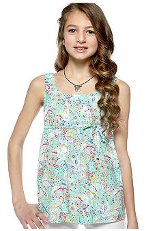 Red Camel Girls Paisley Tank Girls 7-16