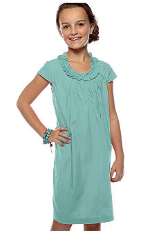 Red Camel Girls Ruffle Neck Dress Girls 7-16