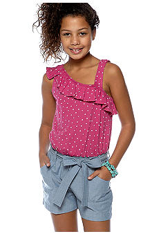 Red Camel Girls Denim Romper Girls 7-16